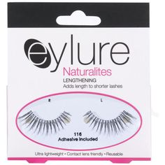 b1c705892d8 Eylure Naturalite Lashes - Lengthening Glamour (116) ($8.18) ❤ liked on  Polyvore