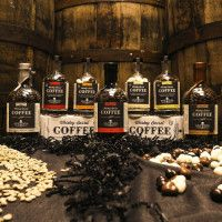 Coffee Beans Roasted in Whiskey Barrels | Cool Material