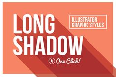 Long Shadow Graphic Styles - Layer Styles