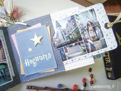 Pour tes beaux yeux...: Moments Magiques, sur le thème Harry Potter, pour Embelliscrap