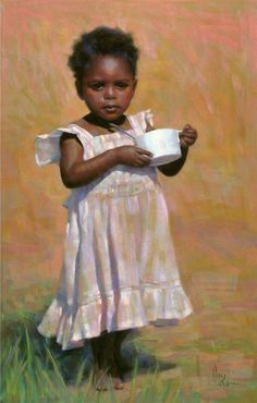 A repin of Empty Cup, pastel by Alain Picard