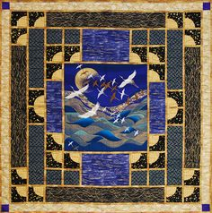 Quilt Inspiration: Japanese quilts