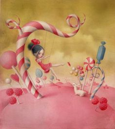 Nicoletta Ceccoli - Illustration - All You Need is Love