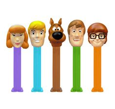 Scooby-Doo PEZ Candy Dispensers: 5-Piece Collector's Set