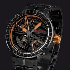 Introducing The Hartig Timepieces Crosslines Wristwatches, Accessories, Orange, Wrist Watches, Jewelry Accessories
