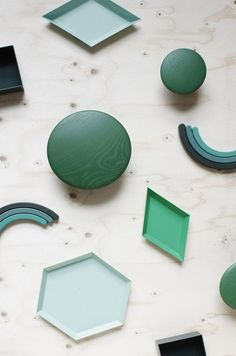 This shows Shape because there are many different objects all with a different two dimensional shape on one of the sides. like circles diamonds and hexagons. 5 Elements, Elements And Principles, Two Dimensional Shapes, Color Shapes, Still Life Photography, Shades Of Green, Color Inspiration, Contemporary Design, Graphic Design
