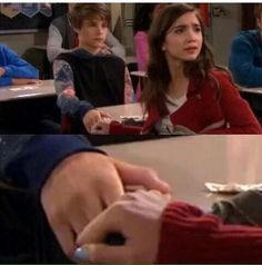 I love how Riley goes to Farkle for comfort. They love each other, in a brother-sister way, and don't want to loose each other.