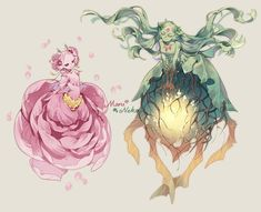 Fairy Character Design by Maru Neko - Fabelwesen - Fantastical Creatures