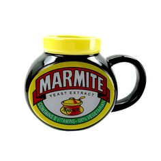 Marmite Cup Mug Collectable Kitchenware Pristine Love It Or Hate It Brand New Kitchenware, Tableware, Food Advertising, Marmite, Mug Cup, Hate, Cups, Brand New, Coffee