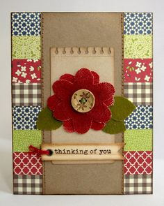 A Jillibean Soup Thinking of You Card by Mendi Yoshikawa