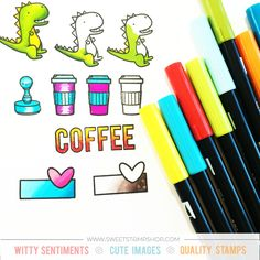A beginner's guide on how to use Tombow Dual Brush Pens for coloring
