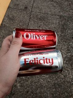 i don't drink coke, but if i did, i'd stock up on these cans specifically.