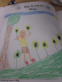 Mrs. Miner's Kindergarten Monkey Business: Tracking Progress Freebie for Back to School