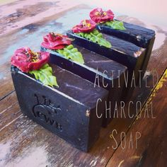 Activated Charcoal Soap by Cleanse With Benefits. #Handmade #soap