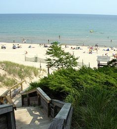 Whitefish Dunes State Park, Door County, WI. Great Beach