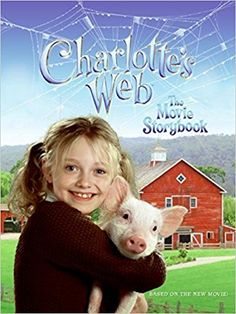 Charlotte's Web: The Movie Storybook: Relive the adventure of Wilbur and his new-found friends with this photo-packed storybook Family Movies, New Movies, Charlottes Web Movie, Dinosaur Dvd, Find Friends, Jessica Rabbit, Son Luna, Por Tv, Used Books