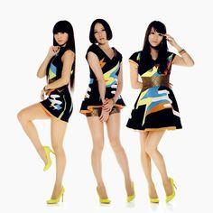 J pop trio Perfume Good Girl, Best Perfume, Perfume Oils, J Pop, Perfume Glamour, Perfume Hermes, Girl Bands, Giorgio Armani, Legs
