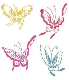 Butterfly Papillon Mariposas Vlinders Wings Gracefull Amazing Coloring pages colouring adult detailed advanced printable Kleuren voor volwassenen coloriage pour adulte anti-stress kleurplaat voor volwassenen Line Art Black and White http://www.doverpublications.com/zb/samples/998088/art11a.htm