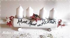 *** Advent, Advent ein Lichtlein..... *** von Midos -Art auf DaWanda.com