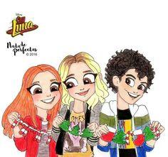 Jorge, Ana y Chiara