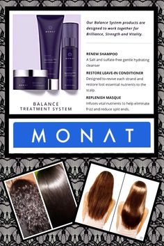 MONAT Balance System #hair #style #straighten