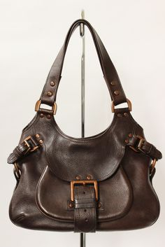 7370118fd8fc2 Mulberry Phoebe Chocolate Brown Darwin Leather Bag