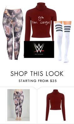 """""""my homecoming"""" by barbierollins ❤ liked on Polyvore featuring A.L.C. and WWE"""