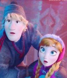 anna and kristoff I decide things sometimes and I've decided this is me and Caleb
