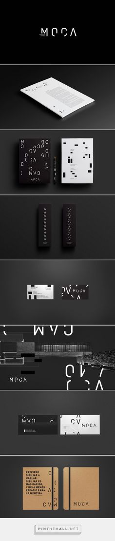 MOCA Architecture and Design Office Branding by Miligrama Design | Fivestar Branding Agency – Design and Branding Agency & Curated Inspiration Gallery
