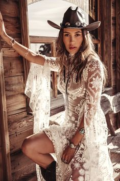 A sneak peak at the brand new modern and romantic boho wedding dress collections, Moonrise Canyon from Rue De Seine available exclusivley at our bridal shops. Western Wedding Dresses, Bohemian Wedding Dresses, Bridal Dresses, Wedding Gowns, Bohemian Weddings, Indian Weddings, Boho Chic, Bohemian Mode, Bohemian Style