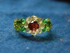 sunflower ring (Japanese)