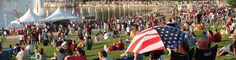 Fair Saint Louis - Celebrating our nation's independence with something for everyone! A free admission festival under the iconic Gateway Arch. Summer Festivals, Fourth Of July, St Louis, Summertime, Dolores Park, America, Explore, Birthday, Party