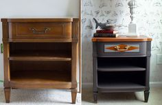 4 DIY Makeovers That Will Make You Want to Paint All Your Wood Gray