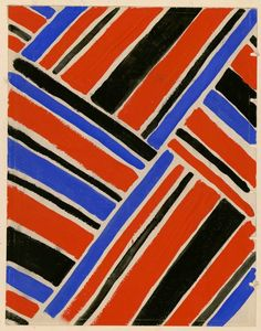 A series of original textile designs by Sonia Delaunay are on view at Les Arts Décoratifs in Paris, through 3 July Sonia Delaunay, Robert Delaunay, Motifs Textiles, Textile Patterns, Textile Design, Floral Patterns, Surface Pattern Design, Pattern Art, Pattern Painting