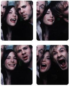 Billy Boyd, Liv Tyler, and Dominic Monaghan♥Whehehehehehehe-Can I hang out with all of these lovely people?!