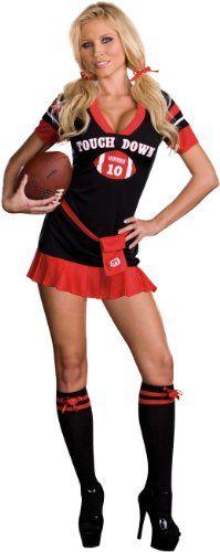 sexy football player halloween costumes - Girls Football Halloween Costume