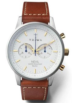 Triwa Snow Nevil Brown Sewn Classic