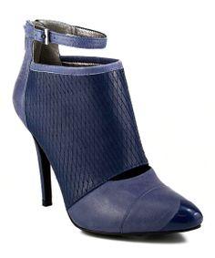 Blue Mayleen Bootie