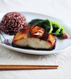 There are many reasons to love black cod — it is sustainably fished, full of healthy omega-3 fatty acids, and wonderfully buttery when cooked. Here's one more: a classic Japanese recipe for black cod that makes an easy, elegant dinner for guests or a quick main dish you can prep over the weekend. This recipe is adapted from Nobu: The Cookbook, which my partner gifted to me many years ago after we visited Nobu's restaurant and swooned over the omakase tasting menu.