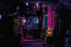 Resultado de imagen de alley night