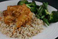 Crock pot orange chicken...gluten free and no frying
