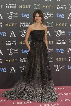 Goya Toledo in Elie Saab Couture at the 2015 Goya Awards