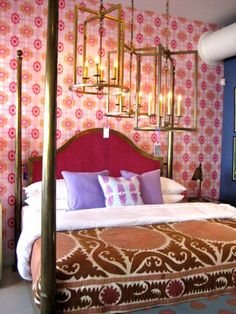 Colorful Julian Chichester Bedroom - Living With Color Designs