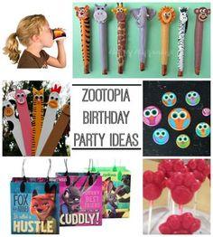 Zootopia Birthday Party Ideas