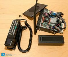 Old Giant Cell Phone Modded into a Working PC – Cool computer gadgets