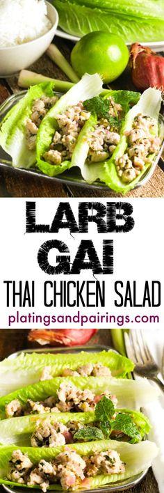 Thai Lettuce Wraps - Light, Refreshing and Impressively EASY!