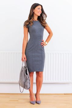 In this look i am wearing a dress by h&m, melissa shoes, stella mccartney bag, michael kors watch. Summer Work Outfits, Office Outfits, Trendy Outfits, Fashion Outfits, Office Dresses, Mimi Ikonn, Look Office, Office Wear, Casual Dresses