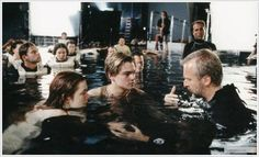 The water the Titanic sank in doesn't look so bad: | 34 Behind The Scenes Photos That Will Change The Way You Look At Classic Movies