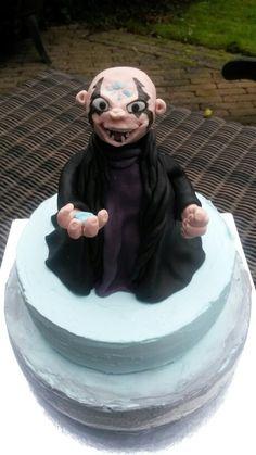 Skylanders Trap Team Kaos cake ;-)....think you can make this one, Kathleen?!?