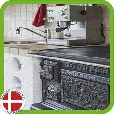 Josef Davidssons Old Sweden 1896 vedspis / houtfornuis